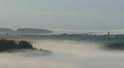 Nebel über Gamburg