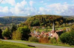 Ausblick vom Burgweg