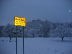 Winter in Gamburg