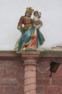 Marienbildstock