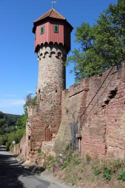 """Der Wartturm (""""Türmle"""") am Hohlweg"""
